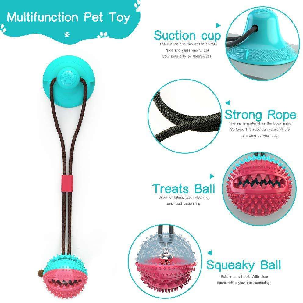 PawBall™ Tug dog Toy-Paw Roll
