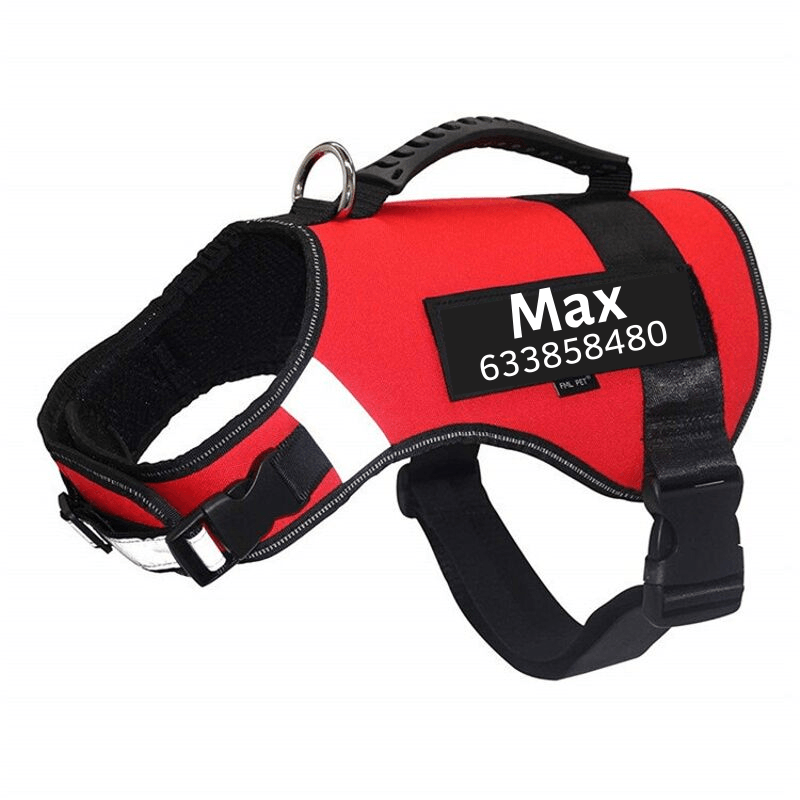 Personalized PawBrave™ No Pull Dog Harness