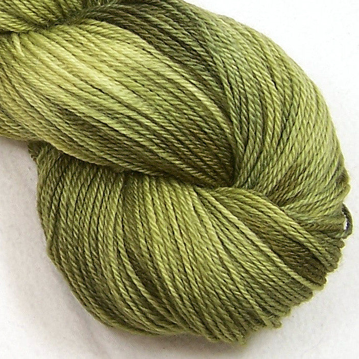 Intrepid Tulips Yarn Cashmere Silk - Smooth Avocado