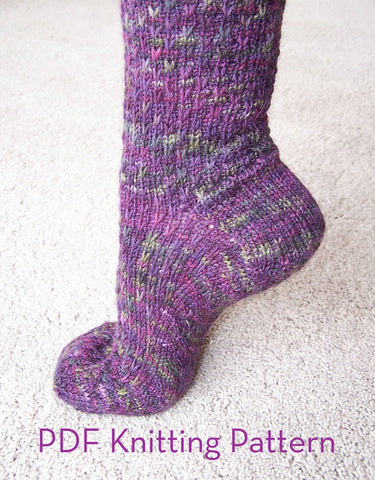 Pattern - Slip One Skip Two Socks
