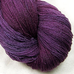 Lace yarn - Wine