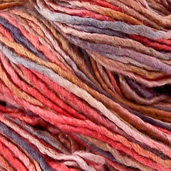 Silken Blend Worsted Yarn - Fire