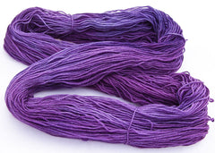 Intrepid Tulips Sock - Dark Orchid