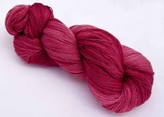 Intrepid Tulips Lace Yarn - Redlover's Red