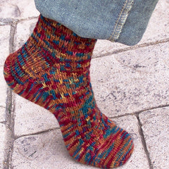 Pattern - Slip One Skip Two Socks - Chile