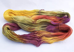 Intrepid Tulips Sock Yarn - Jelly Bean