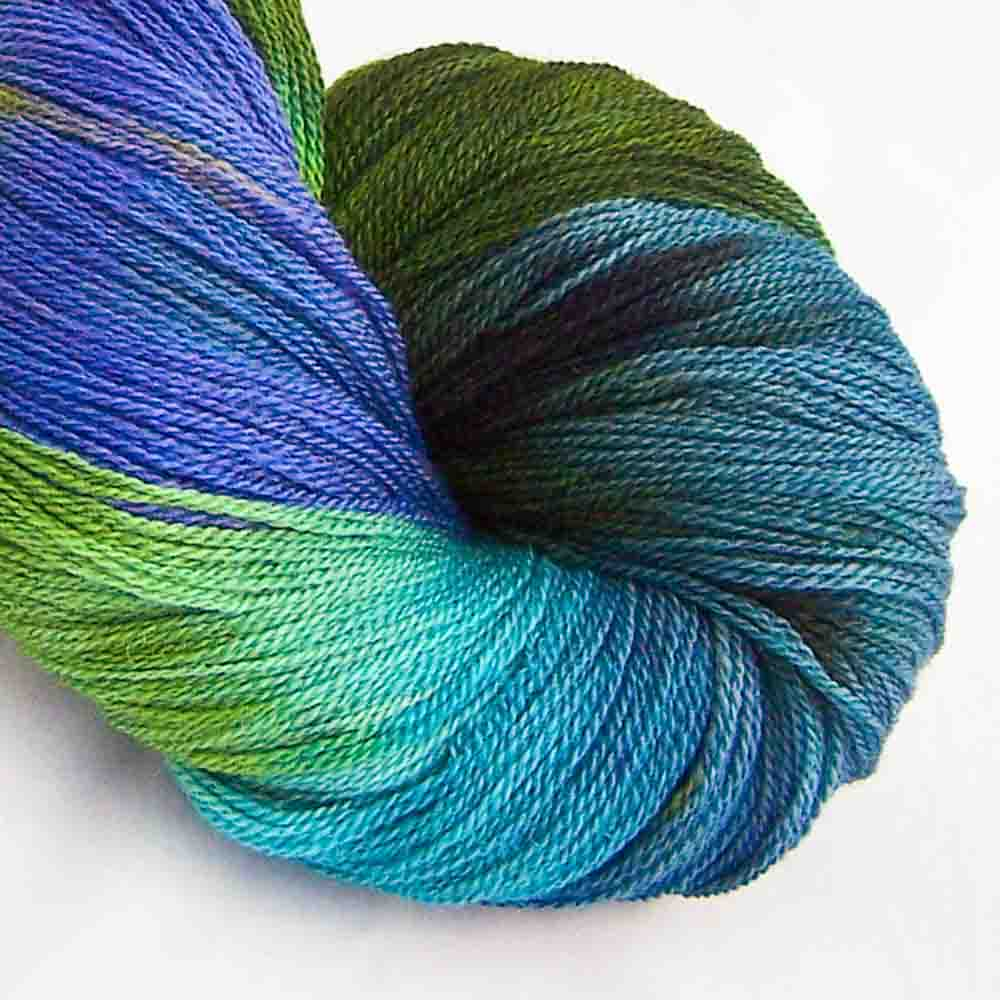 Intrepid Tulips Lace Yarn - Giverny
