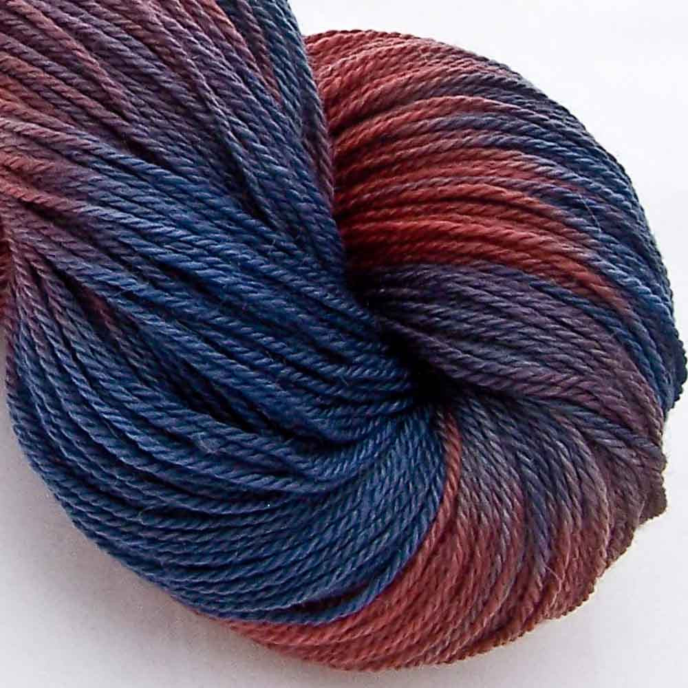 Intrepid Tulips Yarn Cashmere Silk - Campfire