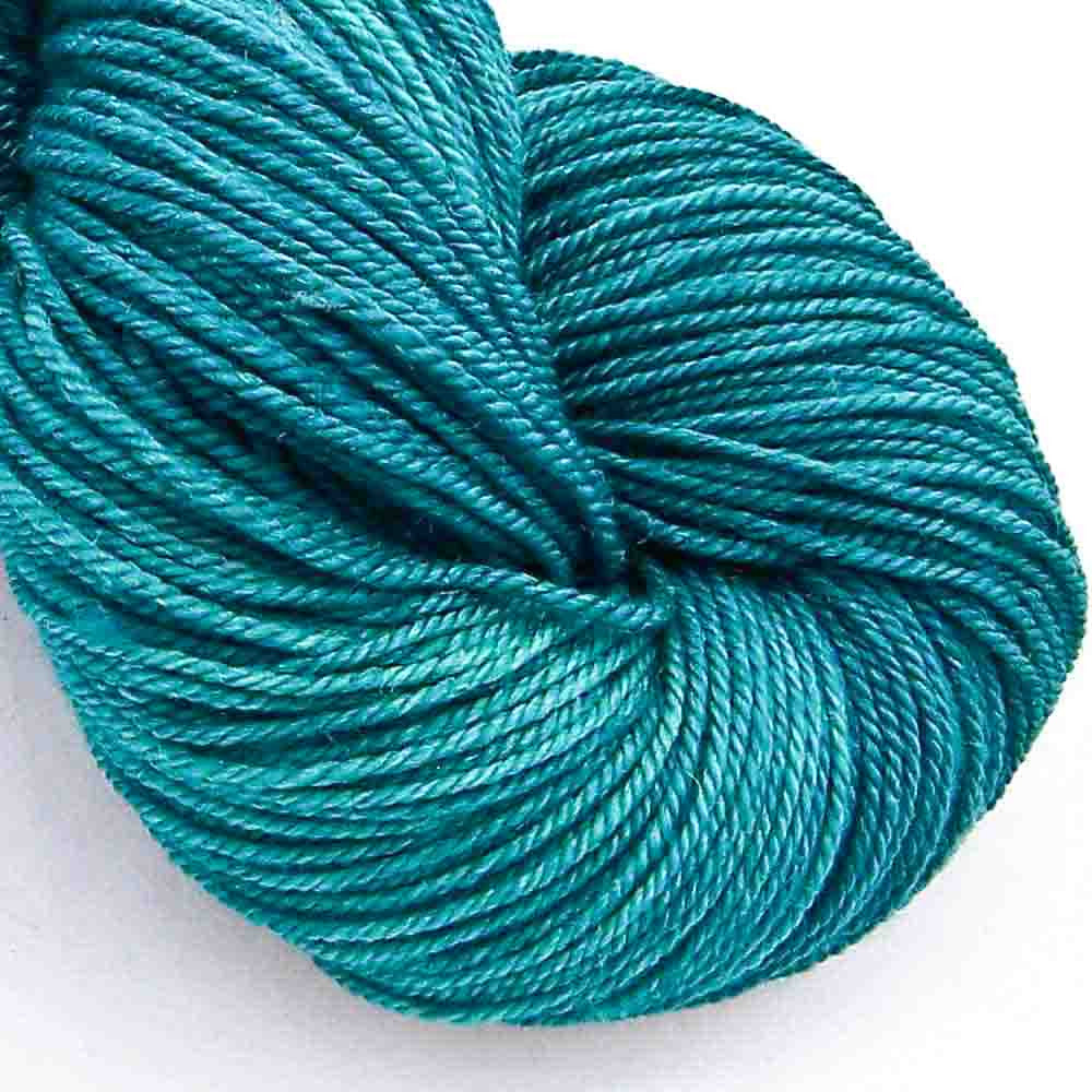 Intrepid Tulips Yarn Cashmere Silk - Toronto Teal