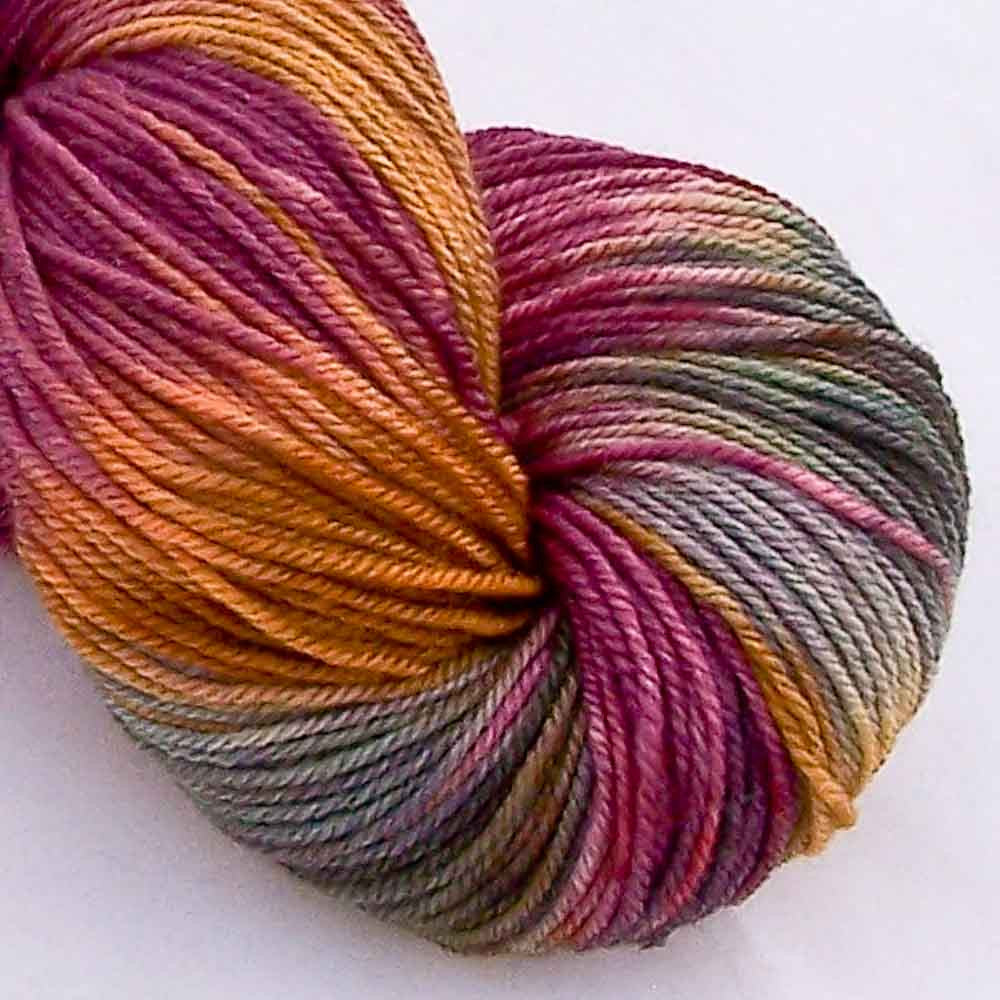 Intrepid Tulips Sock Yarn - Crocus