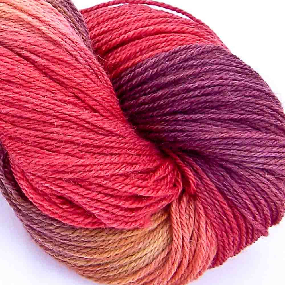 Intrepid Tulips Cashmere Silk Yarn - Cordoba