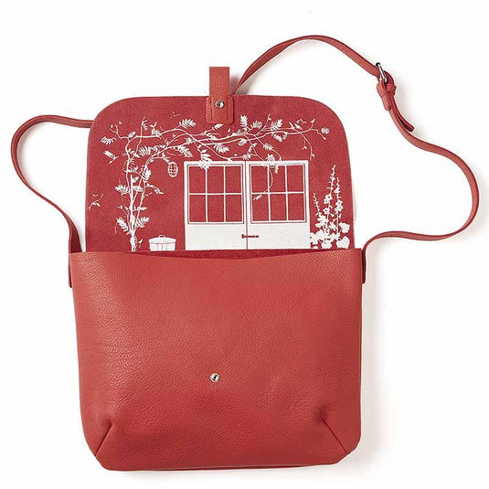 Schultertasche, Back Yard, Coral