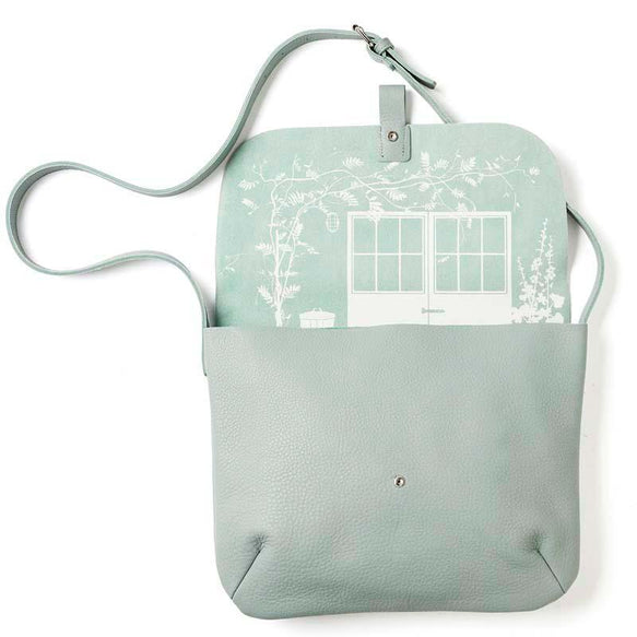 Schultertasche, Back Yard, Dusty Green
