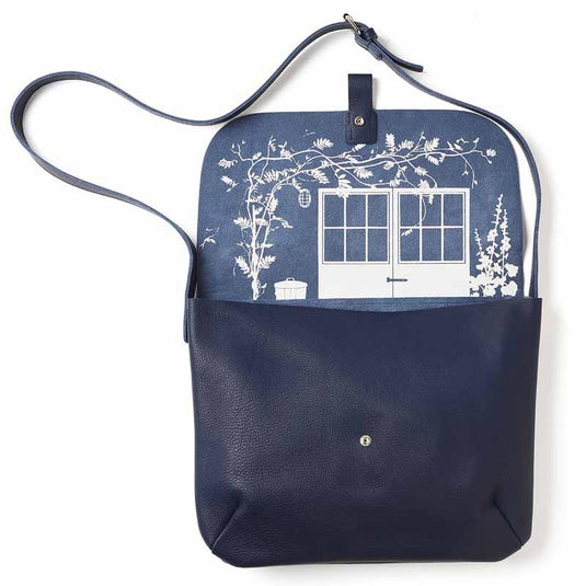 Schultertasche, Back Yard, Ink Blue