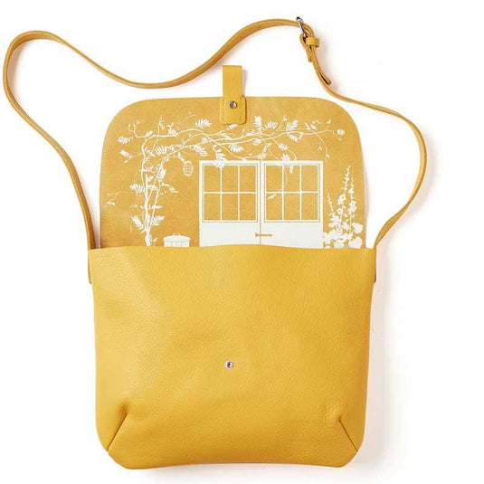 Schultertasche, Back Yard, Yellow