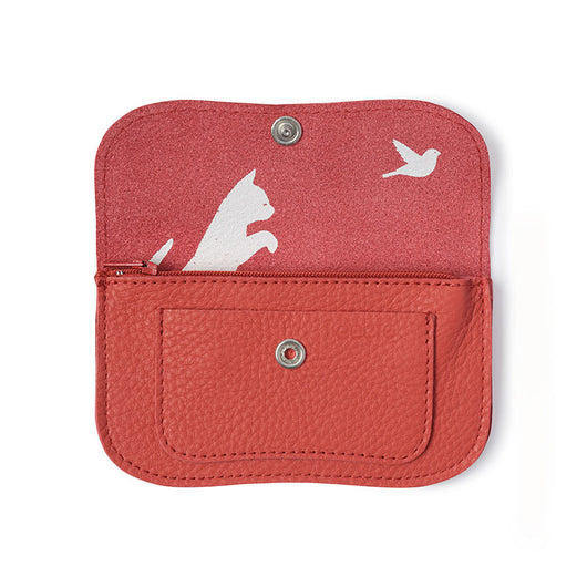 Portemonnaie, Cat Chase Small, Coral