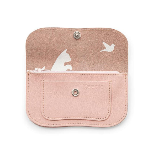 Portmonnaie, Cat Chase Small, Soft Pink