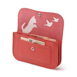 Portmonnaie, Cat Chase Medium, Coral