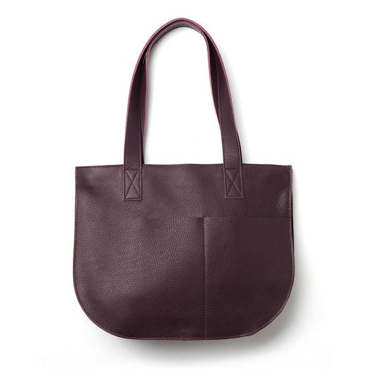Handtasche, Dream Team, Aubergine