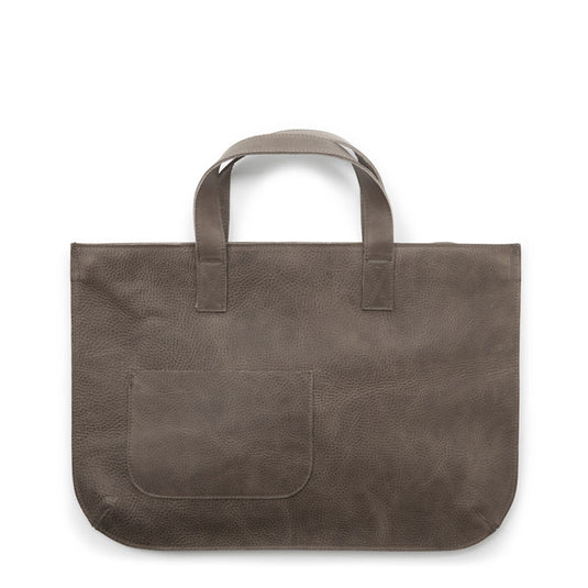 Tasche, Elephant Joke, Grey Brown used look