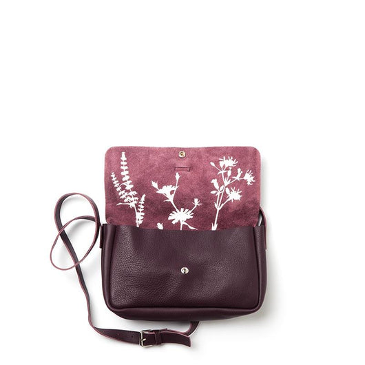 Tasche, Picking Flowers Medium, Aubergine