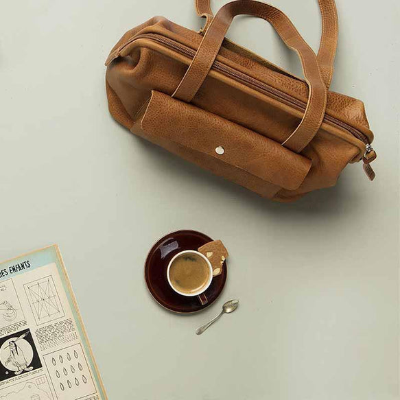 Tasche, Room Service, Cognac used look