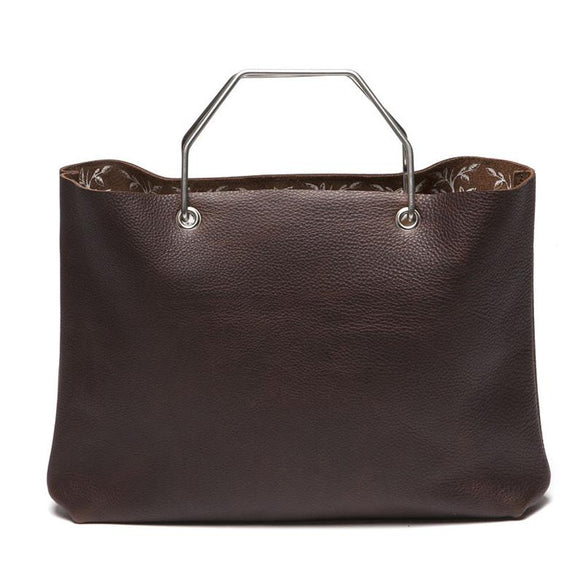Tasche, Window Shopper, Dark Brown used look