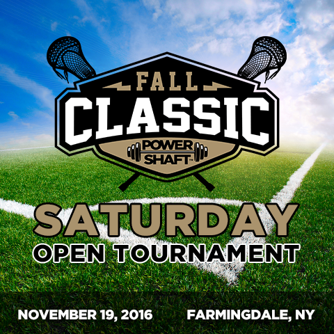 Picture of Fall Classic 2016 - SATURDAY - Open Tournament