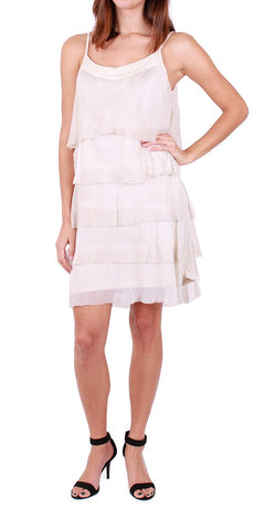 Strap Ruffle Dress