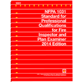 NFPA 1031: Standard for Professional Qualifications for Fire Inspector and Plan Examiner, 2014 Edition