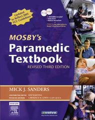 Mosby's Paramedic Textbook, 3rd Ed.