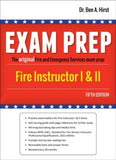 Exam Prep: Fire Instructor I & II, 5th Edition