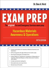 Exam Prep: Hazardous Materials Awareness and Operations, 5th Ed.