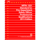 NFPA 1521 Fire Department Safety Officer, 2015 Edition