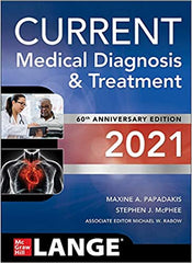 Current Medical Diagnosis and Treatment, 2021