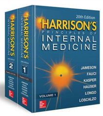 Harrison's Principles of Internal Medicine, 20th Edition (Volumes 1 & 2)