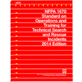 NFPA 1670: Standard on Operations and Training for Technical Search and Rescue Incidents, 2014 Edition