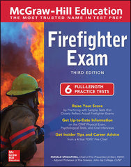 McGraw-Hill Education Firefighter Exam, 3rd Edition