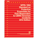 NFPA 1994: Standard on Protective Ensembles for First Responders 2012 Edition
