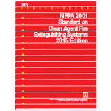 NFPA 2001: Standard on Clean Agent Fire Extinguishing Systems, 2015 Ed.