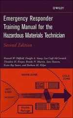 Emergency Responder Training for the Hazardous Material Technician, 2nd Ed.
