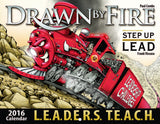 2016 Drawn By Fire Calendar