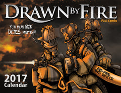 2017 Drawn By Fire Calendar