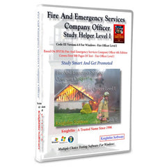 IFSTA's Fire & Emergency Services Company Officer, 4th Ed., Partial Knightlite Study Software