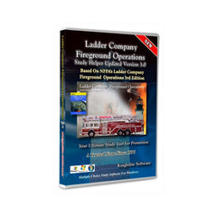 Ladder Company Fireground Operations, 3rd Ed., Knightlite Study Software