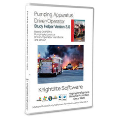 IFSTA's Pumping Apparatus Driver/Operator, 3rd Ed.,Knightlite Study Software