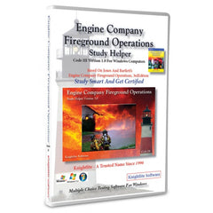 Engine Company Fireground Operations, 3rd Ed., Knightlite Study Software