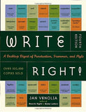 Write Right: A Desk Top Digest of Punctuation, Grammar, and Style