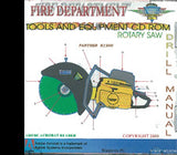 Fire Department Tools and Equipment CD-ROM