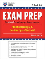 Exam Prep: Structural Collapse & Confined Space Specialist, 4th Ed.